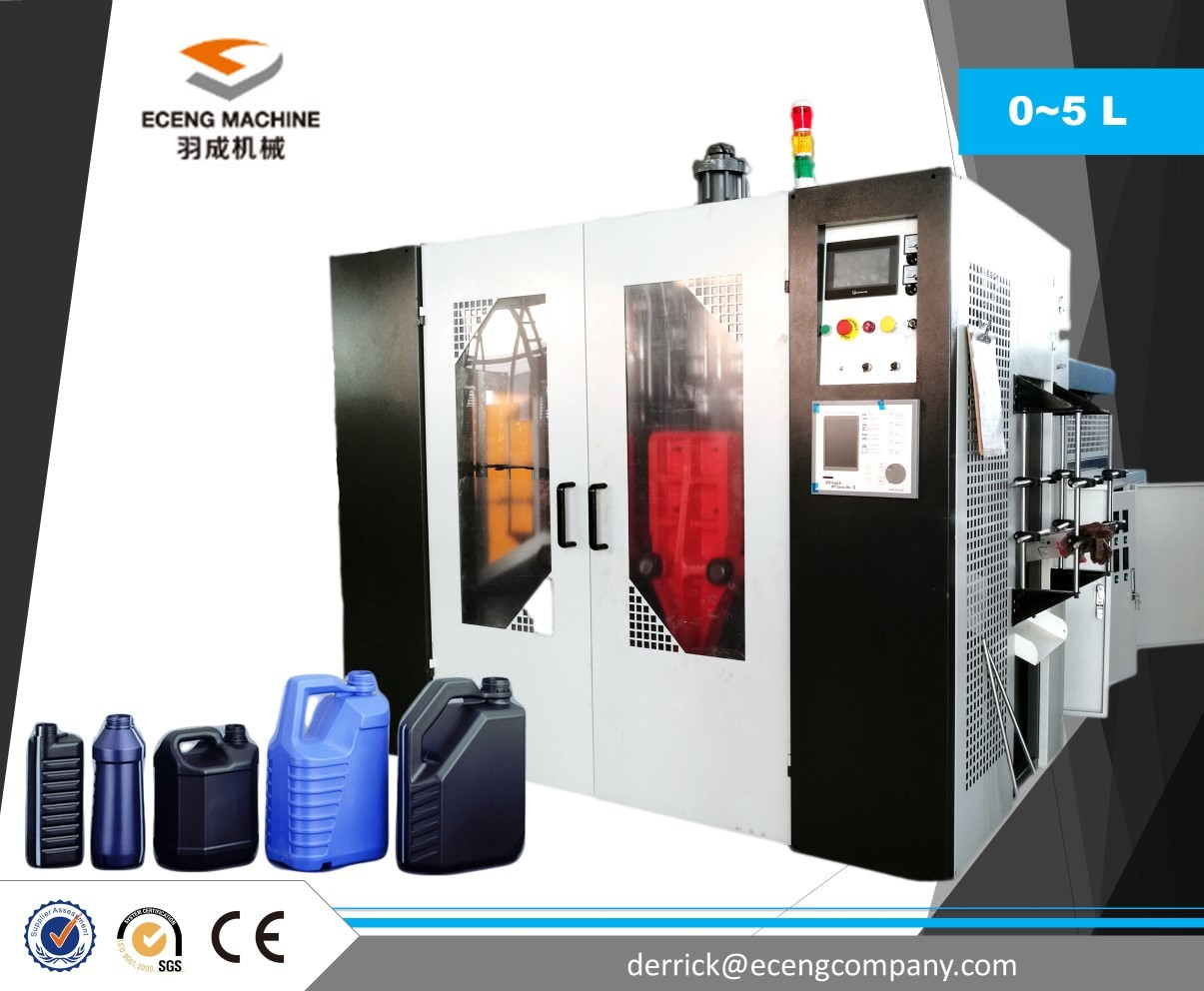 5 L PLC Control Extrusion Molding Machine With Automatic Temperature Control