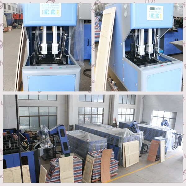 Integated Computer Control Injection Blow Moulding Machine With High Stability