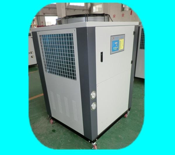 2HP Industrial Water Cooled Chillers / Air Cooled Liquid Chiller With Vacuum Pump