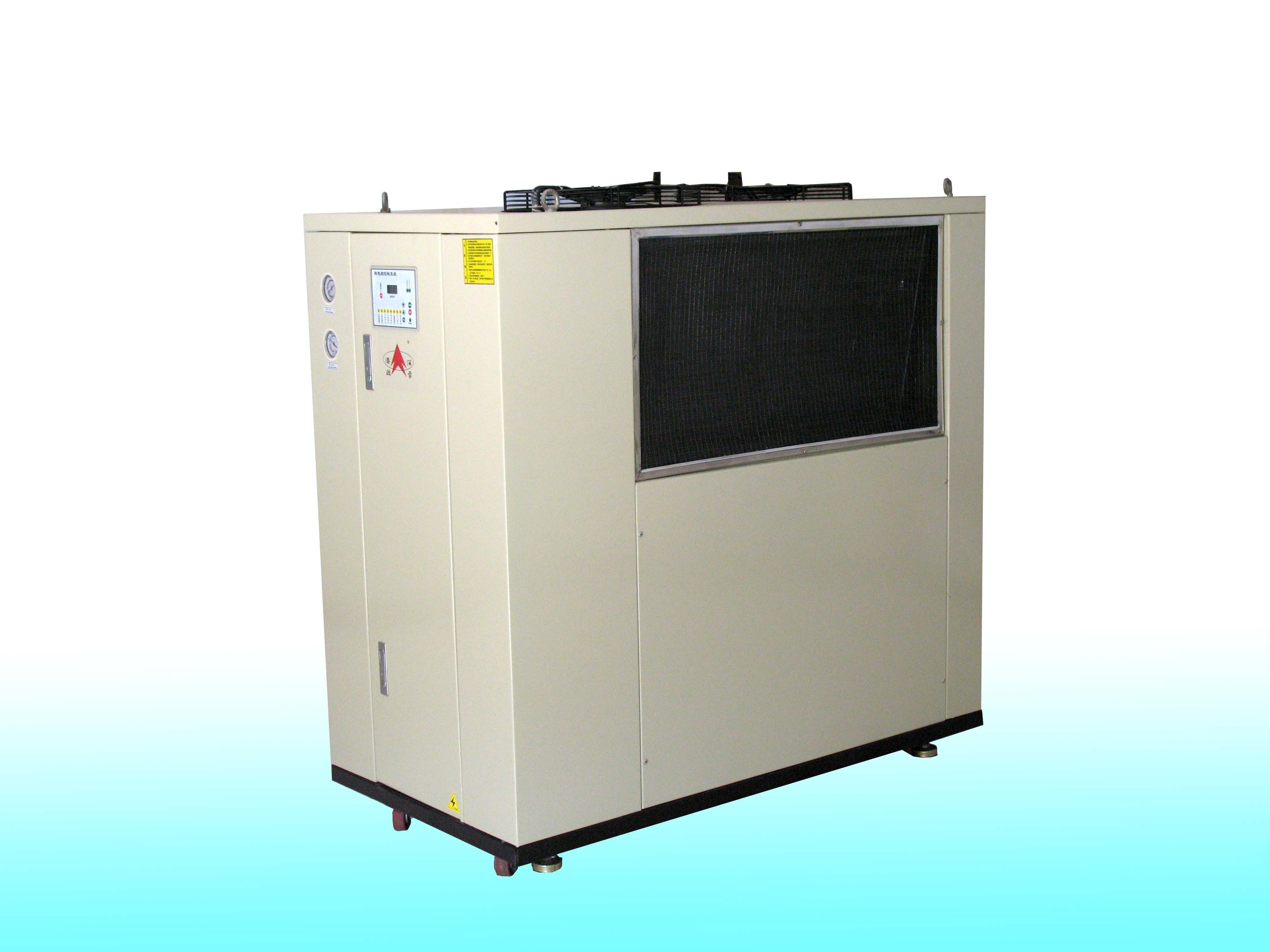 2.54KW Industrial Air Cooled Chiller / Air Cooled Water Chiller For Injection Mould