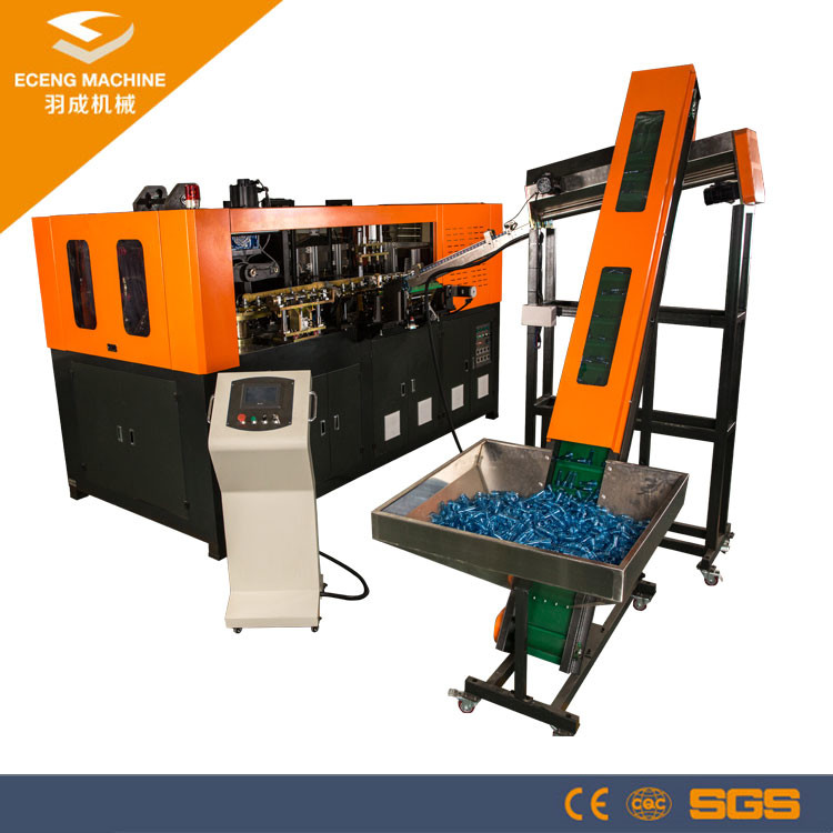PET Bottle Stretch Plastic Bottle Making Machine Four Cavity Fully Automatic